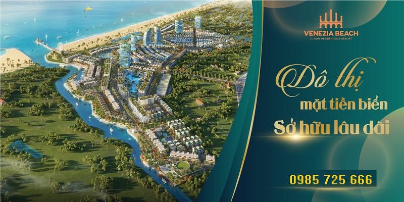 Mở bán dự án Venezia Beach Hồ Tràm - Bình Châu