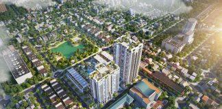 Phối cảnh 1 dự án Bách Việt Diamond Hill Xương Giang - Bắc Giang