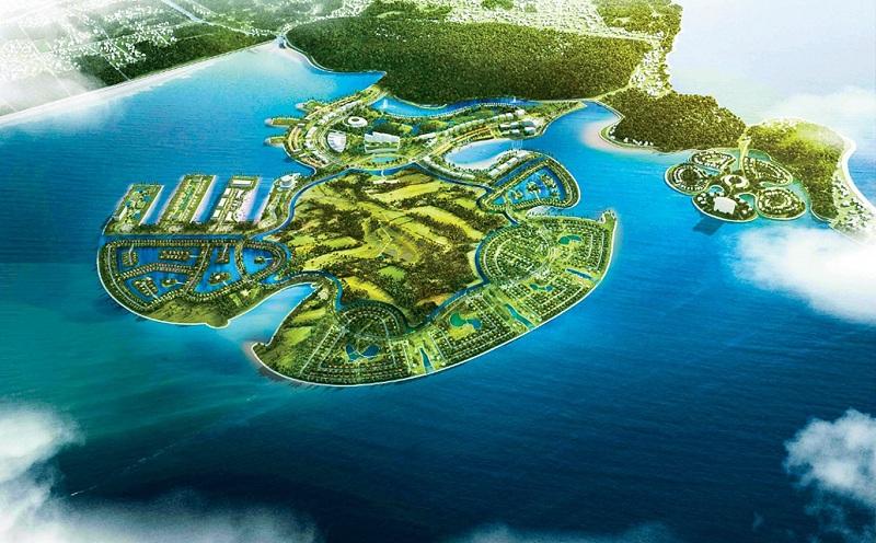 Phối cảnh 2 dự án Dragon Ocean Đồ Sơn - Hải Phòng - Geleximco