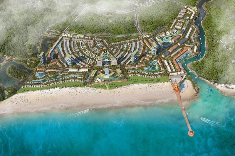 Phối cảnh 2 dự án Venezia Beach Hồ Tràm - Bình Châu