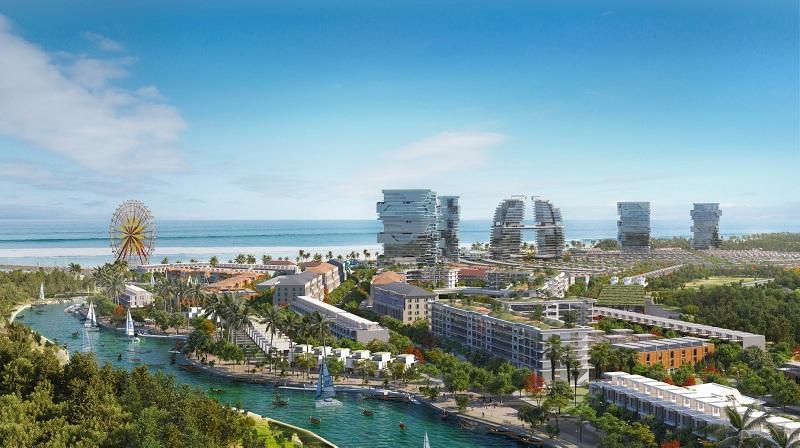 Phối cảnh 3 dự án Venezia Beach Hồ Tràm - Bình Châu