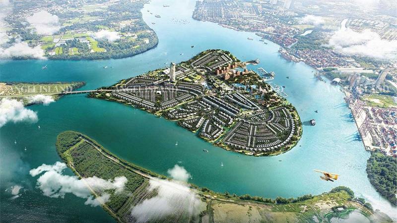 Phối cảnh dự án Angel Island Nhơn Trạch - Đồng Nai - The Saigon Eyes