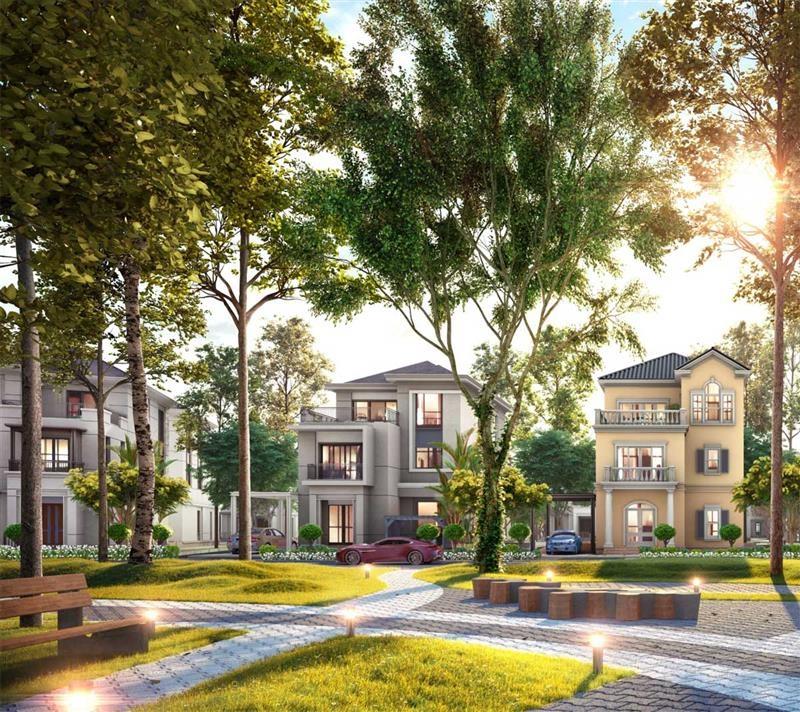 Phối cảnh biệt thự dự án Novaworld Đà Lạt - Lâm Đồng