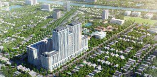 Phối cảnh dự án BID Homes Eden Garden Lê Lợi - Thái Bình