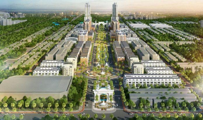 Phối cảnh dự án FLC Square World Bắc Giang