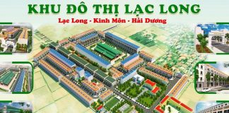Phối cảnh Khu đô thị Lạc Long - Kinh Môn - Hải Dương