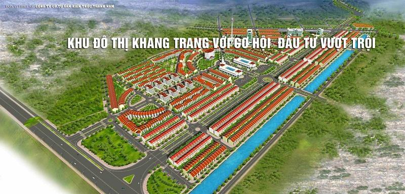 Phối cảnh khu đô thị Thống Nhất - Nam Cường - Nam Định