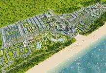 Phối cảnh khu du lịch sinh thái Tân Dân - Nghi Sơn - Thanh Hóa của tập đoàn T&T Group