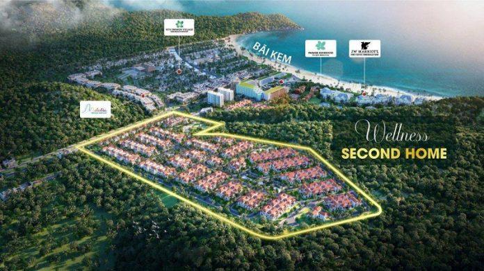 Phối cảnh dự án Sun Tropical Villages Bãi Kem - Wellness Second Homes Phú Quốc