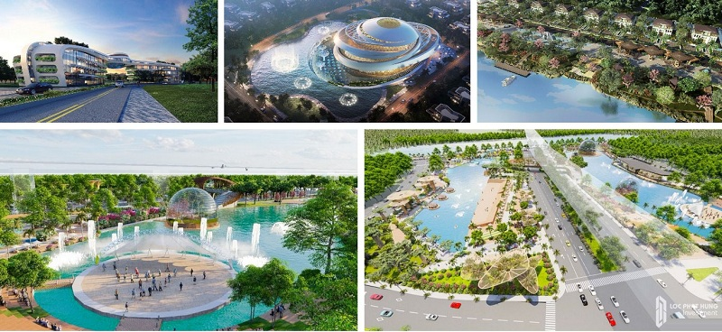 Phối cảnh tiện ích Sunshine Heritage Mũi Né - Phan Thiết
