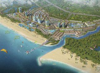 Phối cảnh dự án Venezia Beach Hồ Tràm - Bình Châu