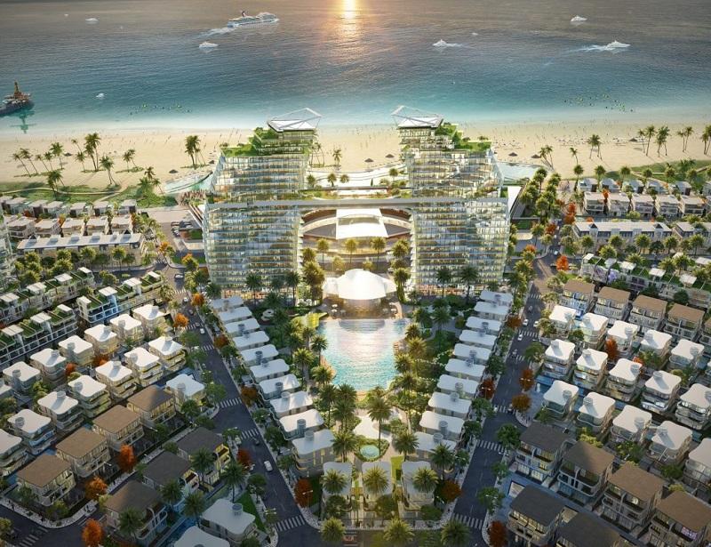 Poll Club Marriott dự án Venezia Beach Hồ Tràm - Bình Châu