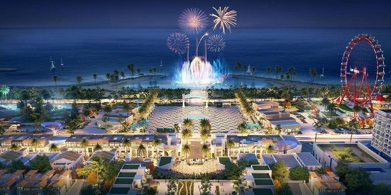Quảng trường biển dự án Dragon Ocean Đồ Sơn - Hải Phòng - Geleximco