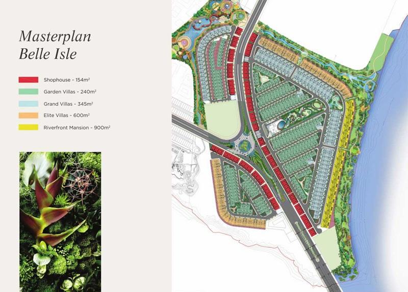Quy hoạch dự án Angel Island Nhơn Trạch - Đồng Nai - The Saigon Eyes