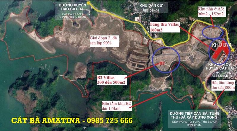 Quy hoạch dự án Cát Bà Amatina Vinaconex ITC Hải Phòng
