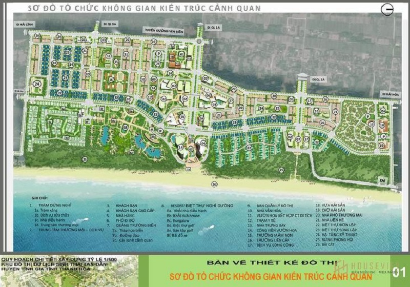 Quy hoạch khu du lịch sinh thái Tân Dân - Nghi Sơn - Thanh Hóa của tập đoàn T&T Group