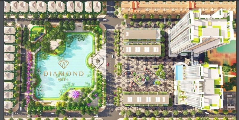 Quy mô dự án Bách Việt Diamond Hill Xương Giang - Bắc Giang