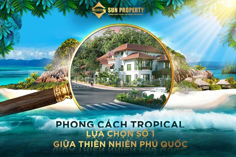 Ra mắt dự án Sun Tropical Villages Bãi Kem - Wellness Second Homes Phú Quốc