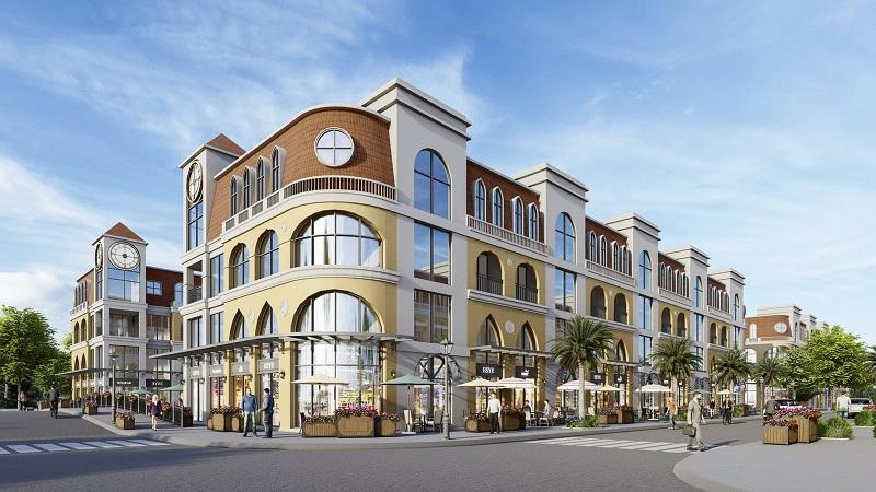 Shophouse 2 dự án Venezia Beach Hồ Tràm - Bình Châu