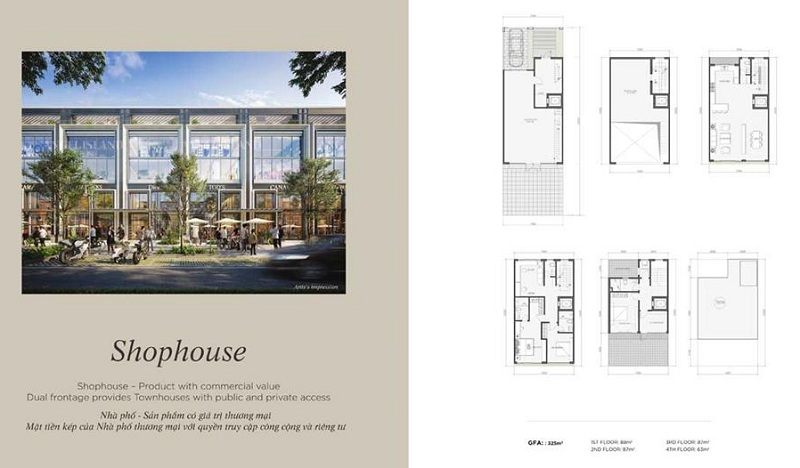 Shophouse dự án Angel Island Nhơn Trạch - Đồng Nai - The Saigon Eyes