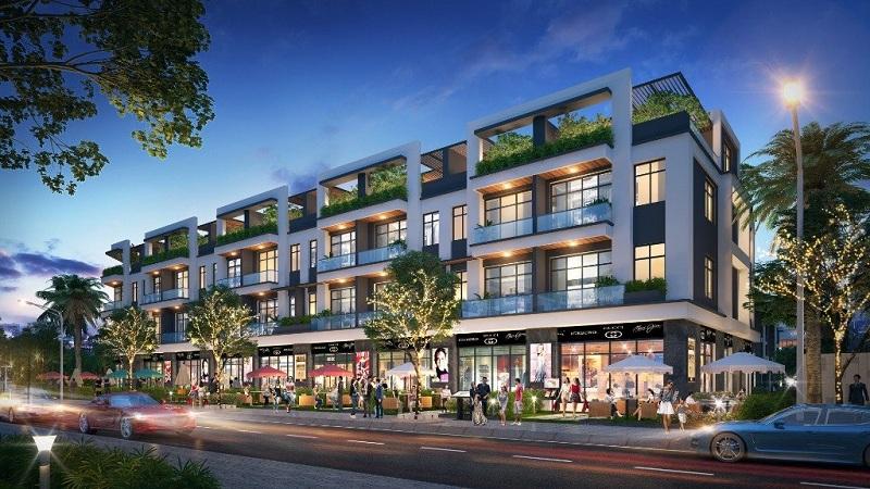 Shophouse dự án Bách Việt Diamond Hill Xương Giang - Bắc Giang