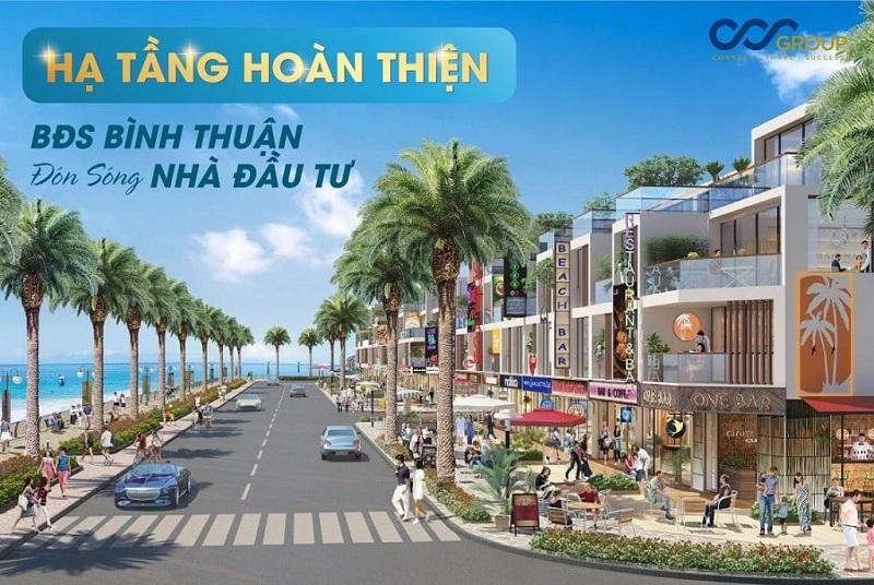 Shophouse dự án đất nền Seaport Vĩnh Tân - Bình Thuận