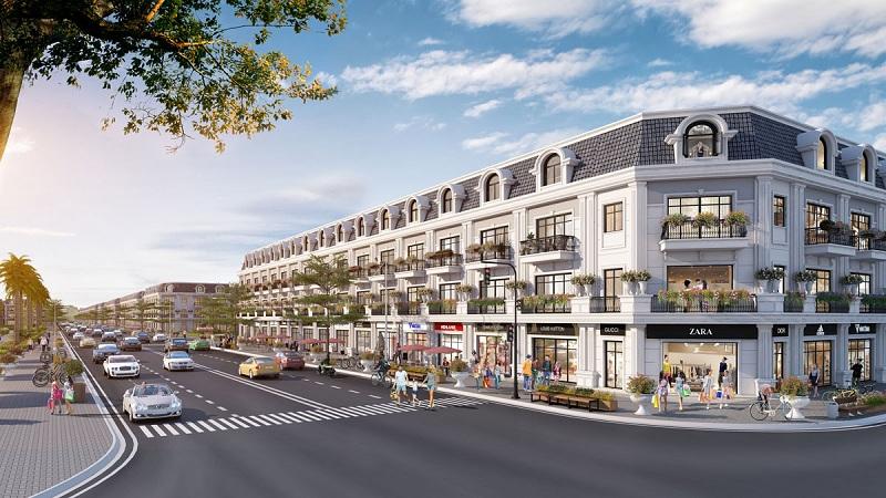 Shophouse dự án Hoàng Huy New City Thủy Nguyên - Hải Phòng