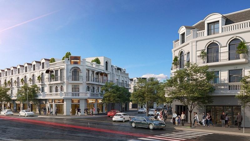 Shophouse Khu đô thị Lạc Long - Kinh Môn - Hải Dương