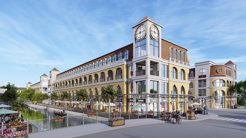 Shophouse dự án Venezia Beach Hồ Tràm - Bình Châu