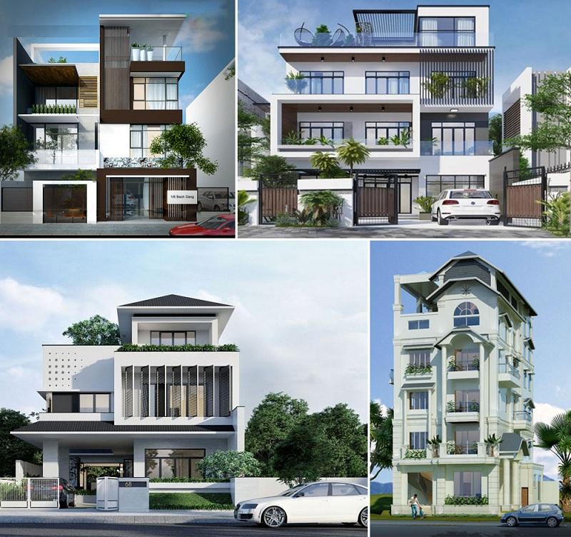 Thiết kế 2 biệt thự dự án Novaworld Đà Lạt - Lâm Đồng