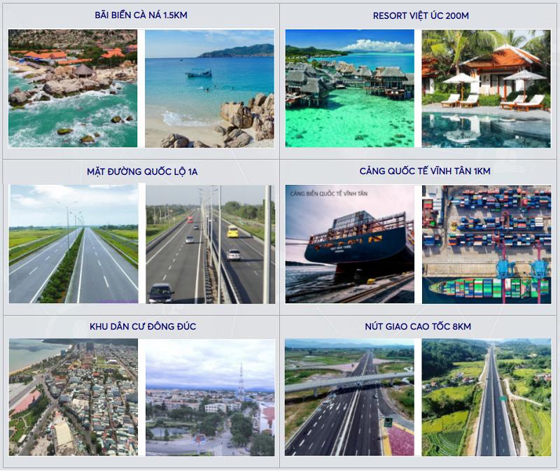 Tiềm năng dự án đất nền Seaport Vĩnh Tân - Bình Thuận
