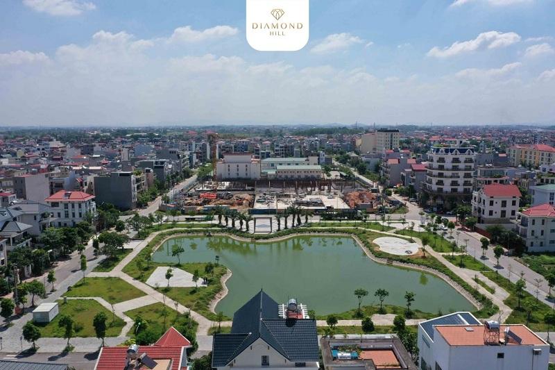 Tiến độ 2 dự án Bách Việt Diamond Hill Xương Giang - Bắc Giang