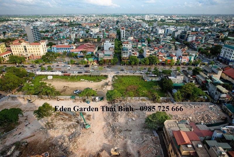 Tiến độ thực tế dự án BID Homes Eden Garden Lê Lợi - Thái Bình