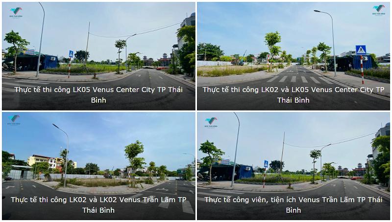 Tiến độ thực tế dự án Venus Center City Trần Lãm - Thái Bình
