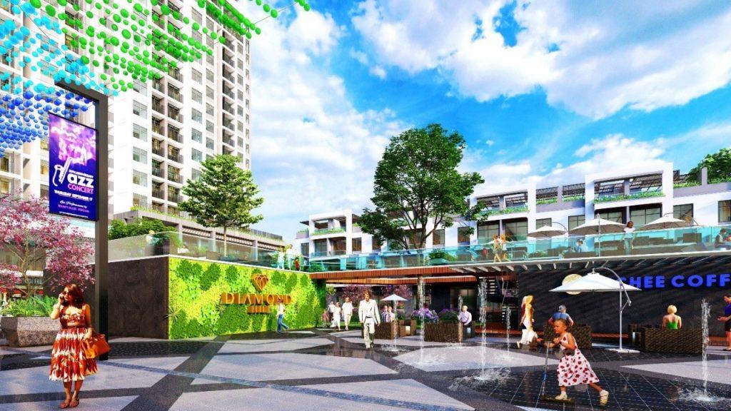 Tiện ích 2 dự án Bách Việt Diamond Hill Xương Giang - Bắc Giang