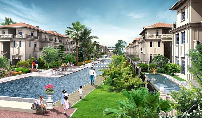 Tiện ích 3 khu biệt thự ven hồ BT5 Luxury Villa Lakeside