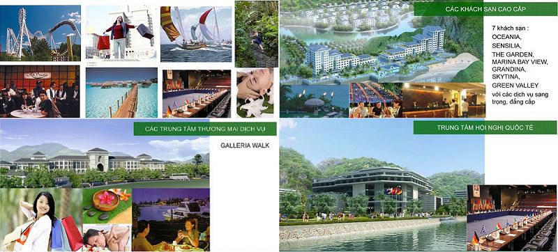 Tiện ích dự án Cát Bà Amatina Vinaconex ITC Hải Phòng