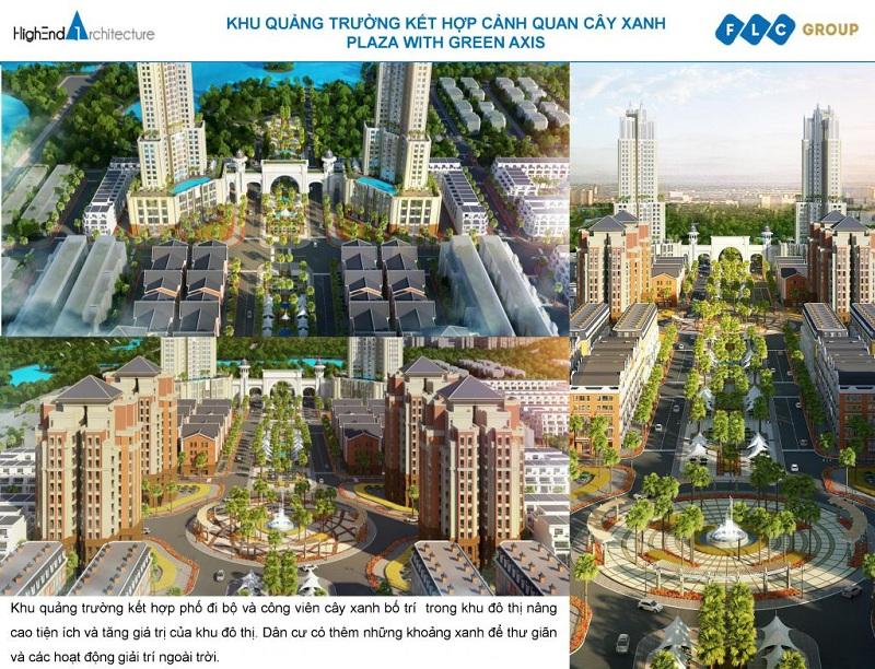 Tiện ích dự án FLC Square World Bắc Giang
