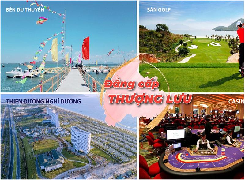 Tiện ích giải trí du lịch đất nền Cam Lâm Sky Lake ven Đầm Thủy Triều