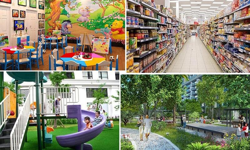 Tiện ích dự án Mỹ Hào Garden City Phố Nối - Hưng Yên