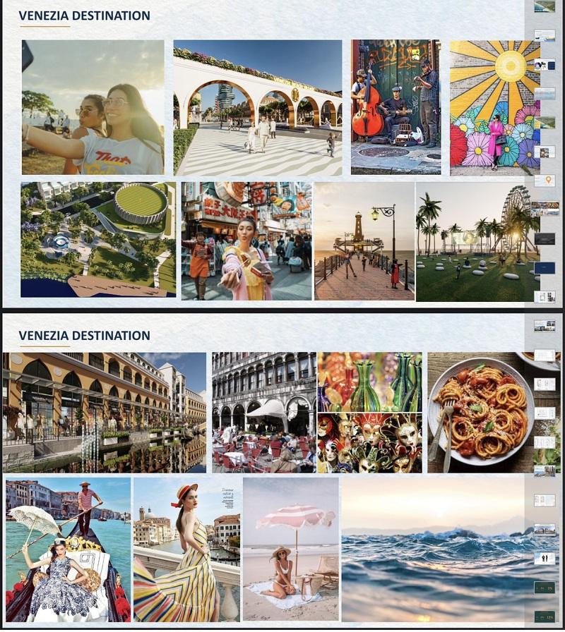 Tiện ích dự án Venezia Beach Hồ Tràm - Bình Châu
