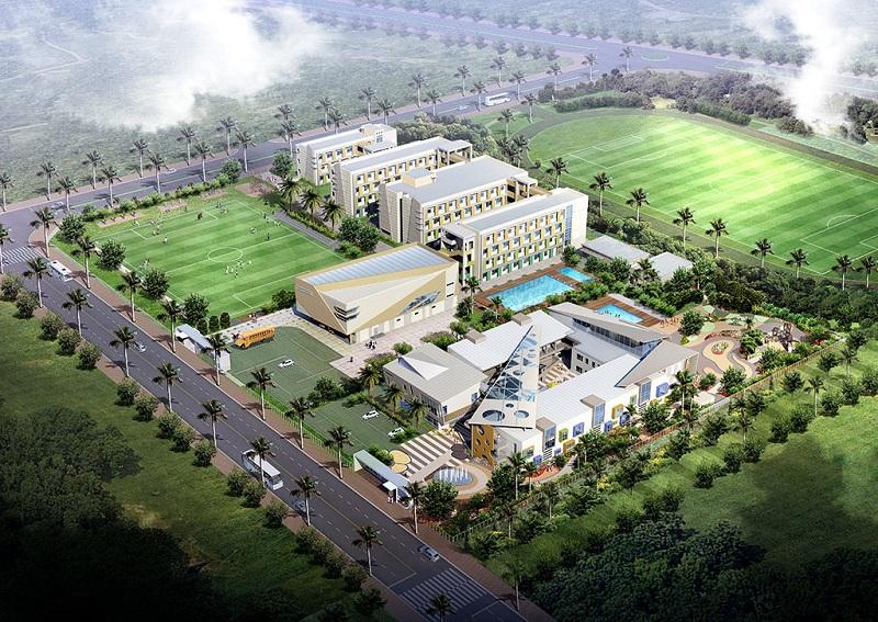 Trường học quốc tế khu biệt thự ven hồ BT5 Luxury Villa Lakeside
