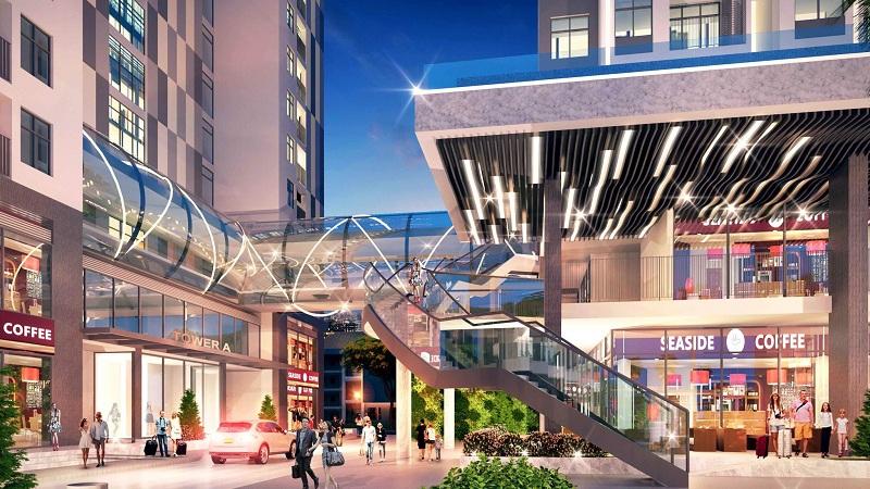 Trung tâm thương mại dự án Bách Việt Diamond Hill Xương Giang - Bắc Giang