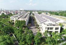 Ảnh thực tế biệt thự liền kề Arden Park Thạch Bàn - Long Biên - Hà Nội Garden City