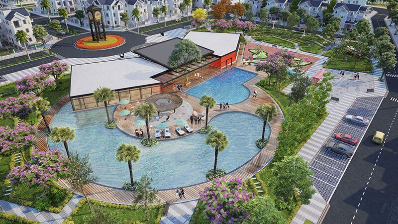 Clubhouse dự án Times Garden Vĩnh Yên Residences