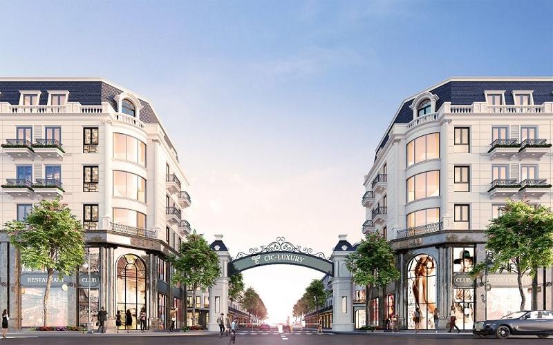Cổng dự án CIC Luxury Lào Cai - Cốc Lếu