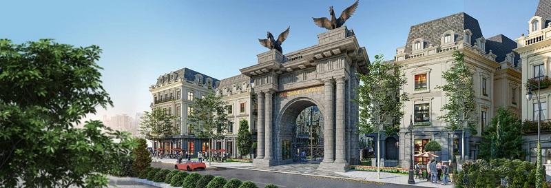Cổng dự án Sunshine Capital Tây Thăng Long