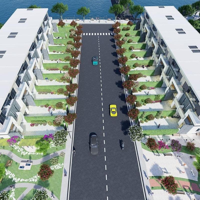 Đường nội khu 40 lô đất nền Phú Cát - Hòa Lạc mặt đường tỉnh lộ 446