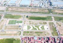 Flycam đất nền dự án Long Châu Star Mẫn Xá - Yên Phong đối diện Samsung Bắc Ninh