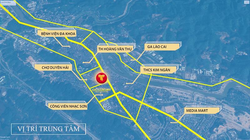 Kết nối dự án CIC Luxury Lào Cai - Cốc Lếu